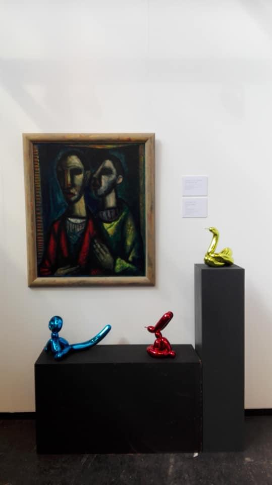 Kunstrai 2019 Quirijn van Tiel en Jeff Koons