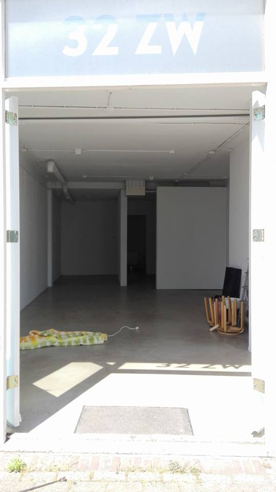 Galerie voor opbouw expo Lamelos
