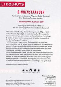 Flyer achter Binnenstaander okt 2013