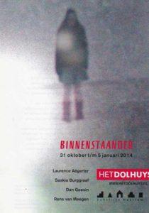 Flyer voorkant Binnenstaander okt 2013