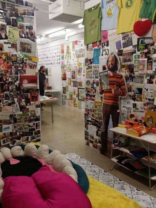 Lamelos Expo vanuit 'de slaapkamer' in het huis van Karen