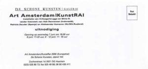 Tekst flyer Han Hoogerbrugge en Silvia B. voorkant